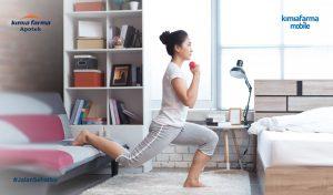 5 Tips Aman Workout di Rumah Agar Tidak Cedera