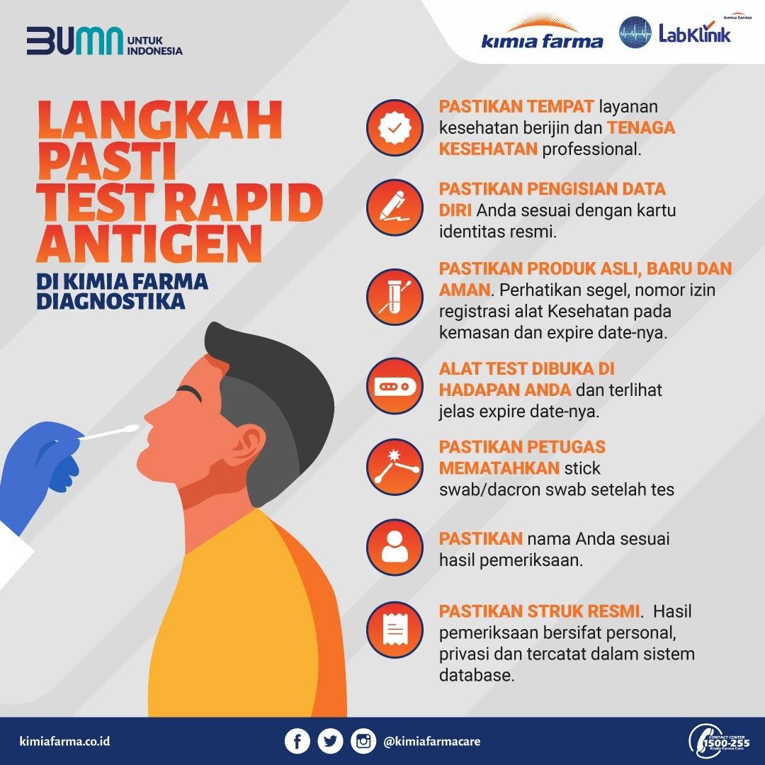Langkah Pasti Test Rapid Antigen